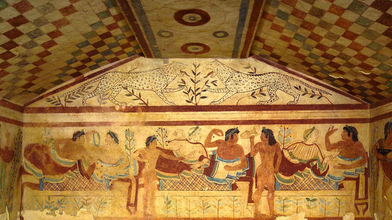 Tarquinia, Tomb of the Leopards